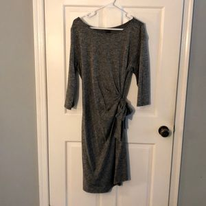 Ann Taylor Gray Dress